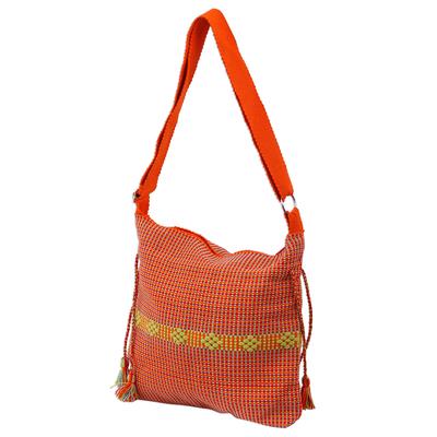 Novica Cotton sling, Dainty Tangerine