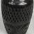 Ceramic decorative vase, 'Mexican Heirloom' - Handcrafted Black Ceramic Decorative Vase from Mexico (image 2c) thumbail