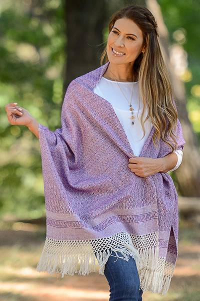 Cotton rebozo, Berry Combination
