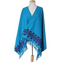 Featured review for Cotton shawl, Above the Clouds