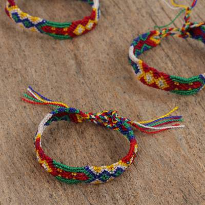 Beauty Striking of colorful bracelet collection best photo