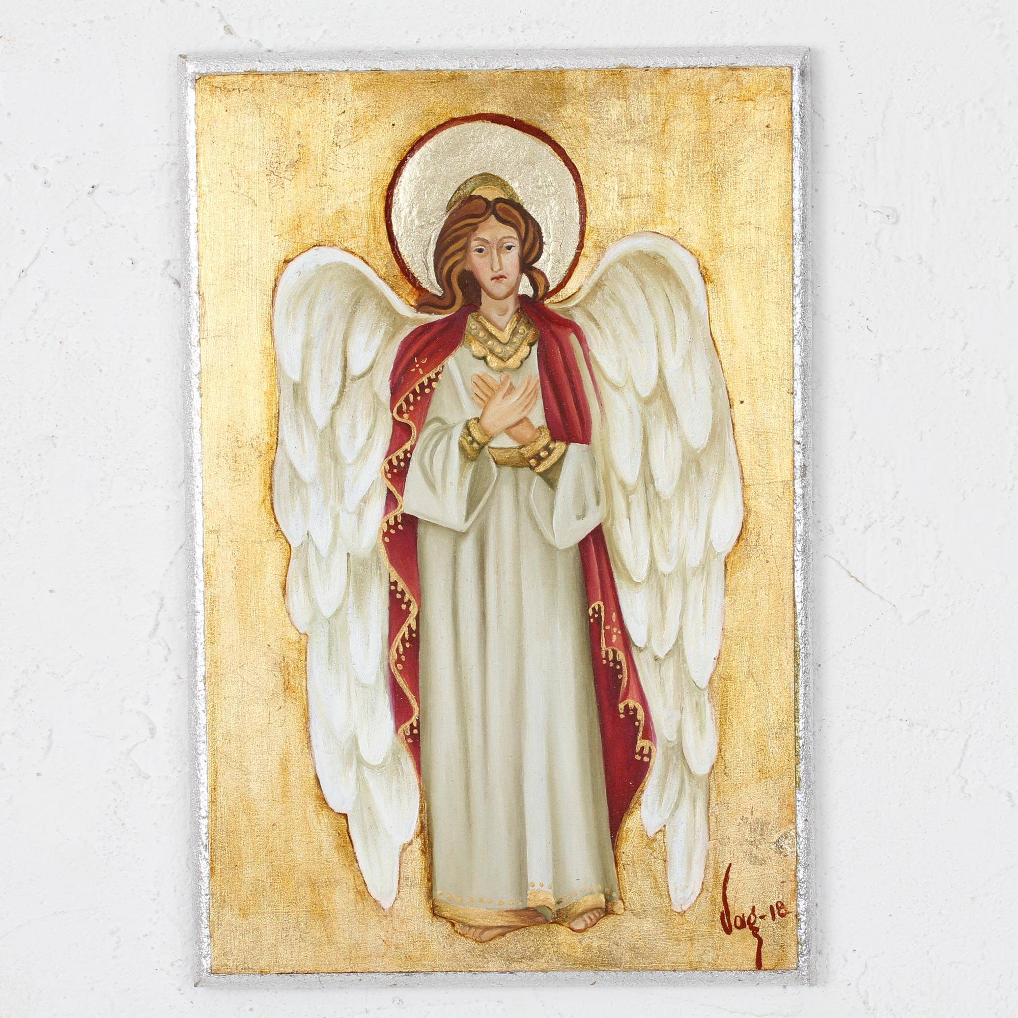 Reclaimed Pinewood Angel Wall Art From Mexico Magnificent Angel Novica