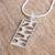 Sterling silver pendant necklace, 'Organic Form' - Modern Sterling Silver Pendant Necklace from Mexico (image 2b) thumbail