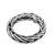 Men's sterling silver band ring, 'Sophisticated Gentleman' - Men's Handcrafted Sterling Silver Wheat Chain Band Ring (image 2a) thumbail