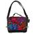 Cotton accent leather handbag, 'Oaxaca Delight' - Cotton Accent Leather Handbag from Mexico (image 2a) thumbail