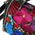 Cotton accent leather handbag, 'Oaxaca Delight' - Cotton Accent Leather Handbag from Mexico (image 2b) thumbail