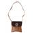 Leather sling, 'Bohemian Spice' - Bohemian Leather Sling in Spice from Mexico (image 2a) thumbail