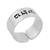 Sterling silver wrap ring, 'Healing' - Hebrew Inscription for Healing Sterling Silver Wrap Ring (image 2a) thumbail