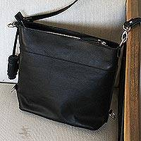 Leather sling,