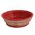 Ceramic serving bowl, 'Red Basin' (8 inch) - Handmade Ceramic Serving Bowl from Mexico (8 in.) (image 2a) thumbail