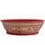 Ceramic serving bowl, 'Red Basin' (8 inch) - Handmade Ceramic Serving Bowl from Mexico (8 in.) (image 2c) thumbail