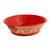 Ceramic serving bowl, 'Red Basin' (12 inch) - Handmade Ceramic Serving Bowl from Mexico (12 in.) (image 2a) thumbail