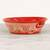 Ceramic serving bowl, 'Red Basin' (12 inch) - Handmade Ceramic Serving Bowl from Mexico (12 in.) (image 2c) thumbail