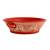 Ceramic serving bowl, 'Red Basin' (12 inch) - Handmade Ceramic Serving Bowl from Mexico (12 in.) (image 2d) thumbail