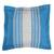 Cotton cushion cover, 'Sky and Land' - Handwoven Cotton Cushion Cover in Azure and Ivory (image 2a) thumbail