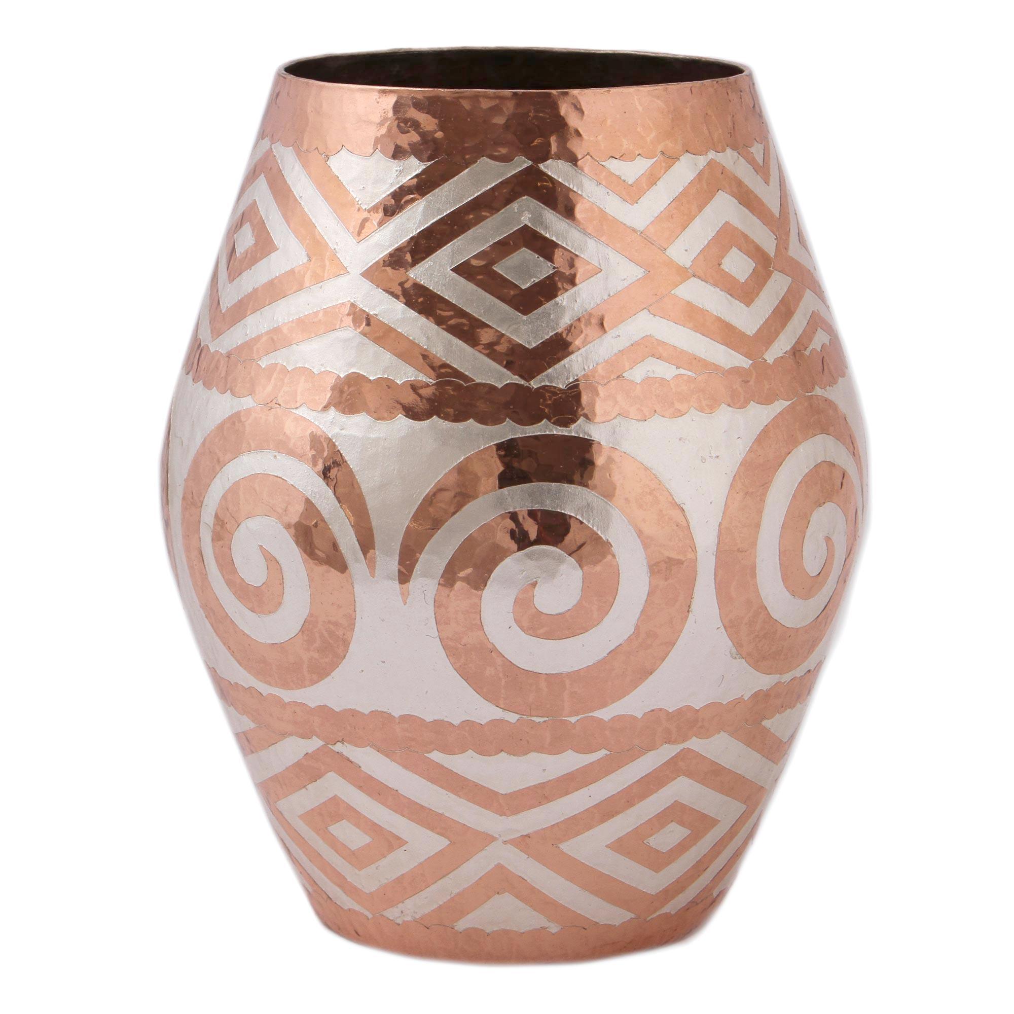 Spiral vase handmade ceramics
