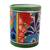 Ceramic vase, 'Colorful Bouquet' - Cylindrical Talavera-Style Ceramic Vase from Mexico (image 2a) thumbail