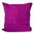 Cotton cushion cover, 'Geometric Metamorphosis' - Viridian and Magenta Cotton Cushion Cover from Mexico (image 2b) thumbail