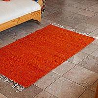 Zapotec wool area rug, 'Sun of Summer' (2.5x5)