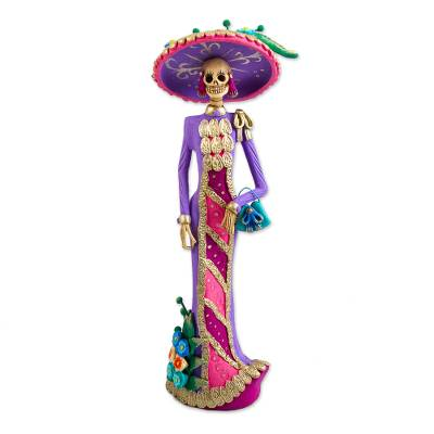 Artisan Crafted Catrina Day of the Dead Figurine