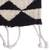 Wool table runner, 'Mountains of Teotitlán' (59 inch) - Black and Ecru Geometric Wool Table Runner (59 Inch) (image 2c) thumbail