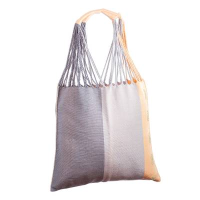 Hand Loomed Cotton Tote from Mexico