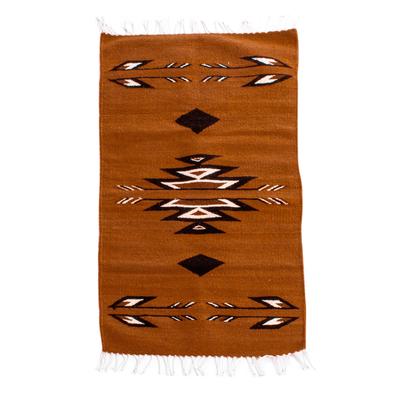Hand Woven Zapotec Wool Area Rug (2x3)