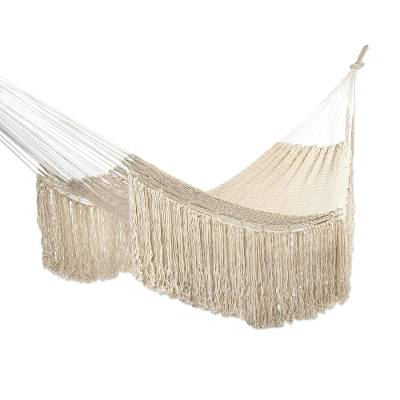 Cotton Hammock in Ivory (Double)