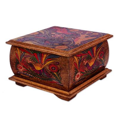 Hand Crafted Decorative Decoupage Box