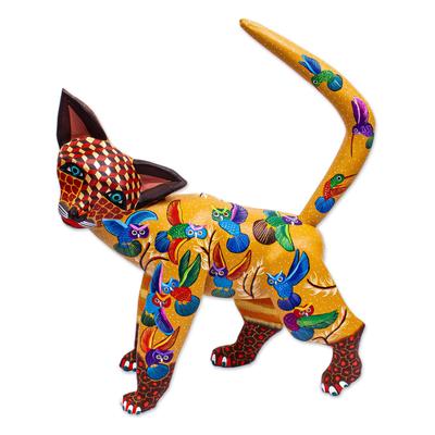 Handmade Cat Alebrije