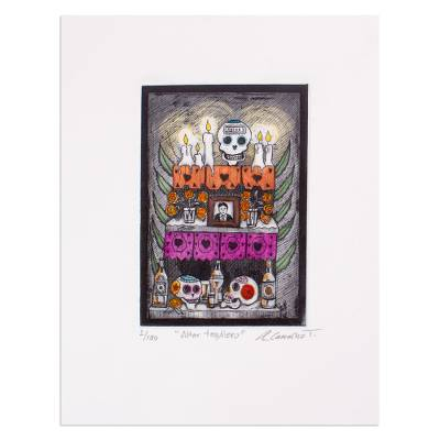 Day of the Dead Themed Print