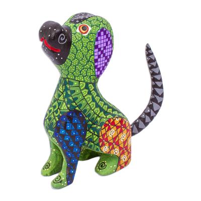 Handmade Dog Alebrije Figurine