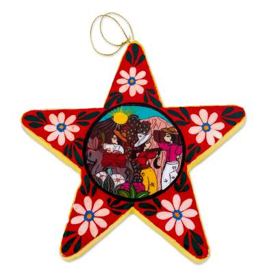 Artisan Crafted Star Ornament