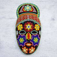 Beadwork mask 'Red-Haired Personage'