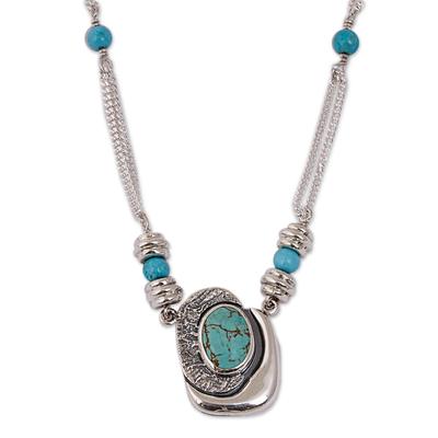 Necklace, 'Spirit Love' - Necklace