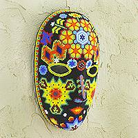 Beadwork mask, 'The Sun'