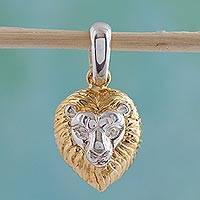 Featured review for Gold plated pendant, King of the Cats