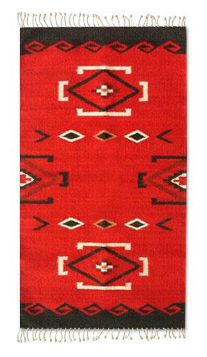 Zapotec Wool Area Rug (2x3.5)