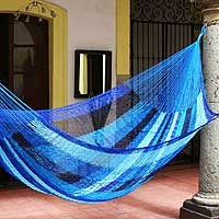 Featured review for Hammock, Blue Caribbean (double)