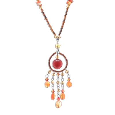 Artisan Crafted Carnelian Necklace