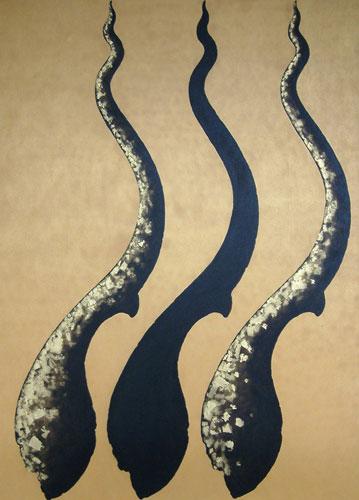 'Cho Fa Crown II' (2005) - Acrylic Painting