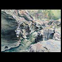 'Time' - Landscape Realist Painting