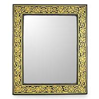 Mirror, 'Golden Bouquet' - Mirror