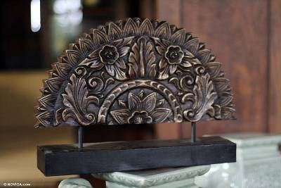 Original Wood Sculpture Hand Carved in Thailand