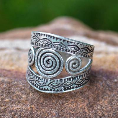 quality mens silver animal rings