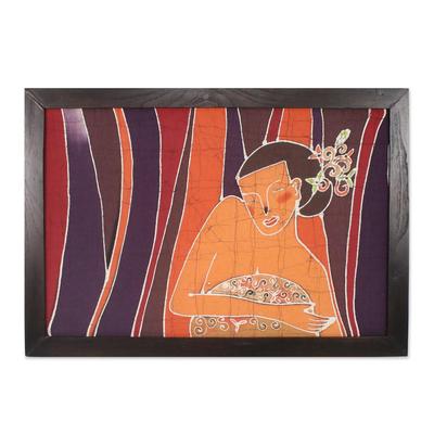Batik Cotton Wall Art