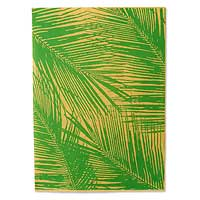 Saa wrapping paper, 'Sunset Leaves' (set of 6) - Saa wrapping paper (Set of 6)