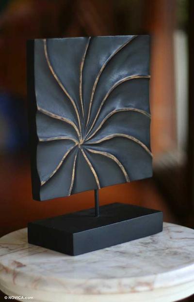 wood sculpture radius novica. Black Bedroom Furniture Sets. Home Design Ideas