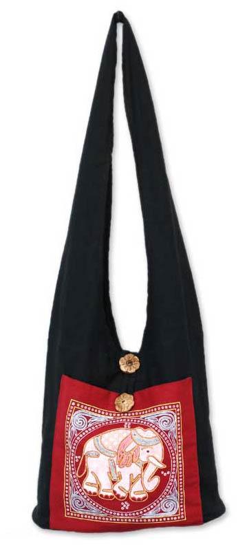 Hand Made Cotton Shoulder Bag