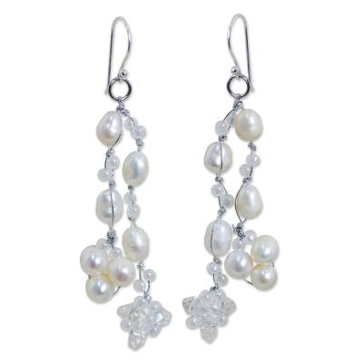 Pearl Earrings from Thailand